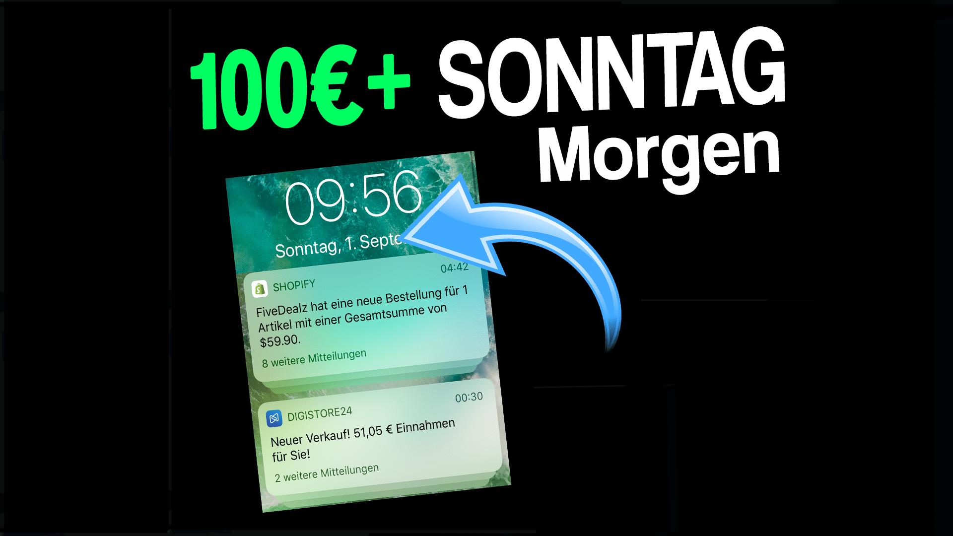 110,95€ am Sonntagmorgen!