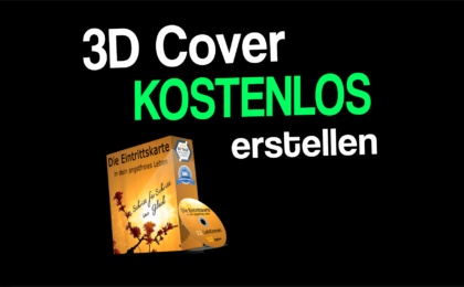 Wie du dir ein 3D Cover erstellen kannst.